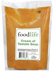 soup cream of tomato Food Life Nutrition info