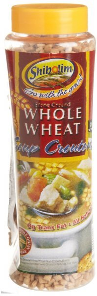 soup croutons whole wheat Shibolim Nutrition info