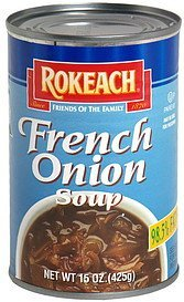soup french onion Rokeach Nutrition info