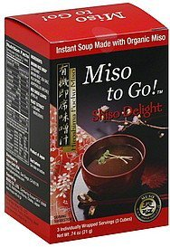 soup instant, miso to go!, shiso delight Muso Nutrition info
