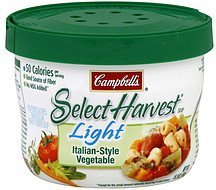 soup italian-style vegetable Campbells Nutrition info