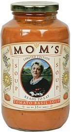 soup limited edition, tomato basil Mom's Nutrition info