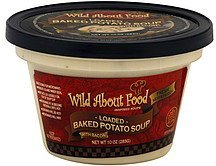 soup loaded baked potato, with bacon Wild About Food Nutrition info