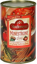 soup minestrone Stockmeyer Nutrition info