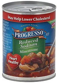 soup minestrone Progresso Nutrition info