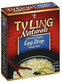 soup mix chinese style egg drop Ty Ling Nutrition info