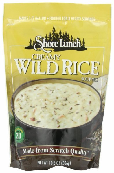 soup mix creamy wild rice Shore Lunch Nutrition info