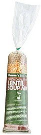 soup mix giada delaurentiis, lentil Womens Bean Project Nutrition info