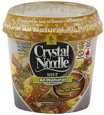soup mushrooms Crystal Noodle Nutrition info