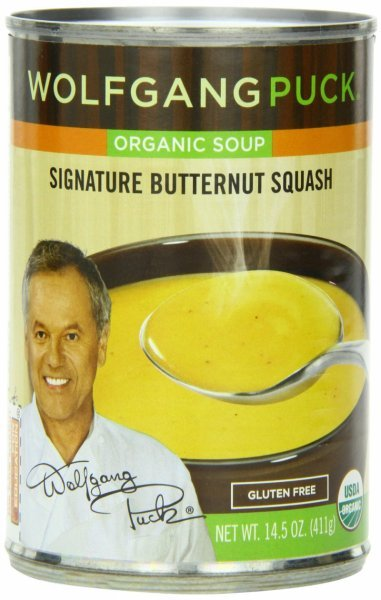 soup organic, signature butternut squash Wolfgang Puck	 Nutrition info