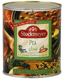 soup pea Stockmeyer Nutrition info