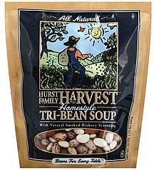 soup tri-bean, homestyle Hurst Family Harvest Nutrition info