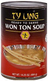 soup won ton Ty Ling Nutrition info