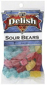 sour bears Its Delish Nutrition info
