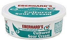 sour cream cultured Eberhards Nutrition info