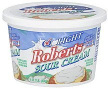 sour cream light Roberts Nutrition info