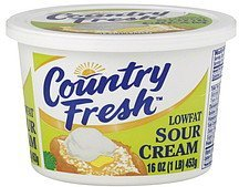 sour cream low fat Country Fresh Nutrition info