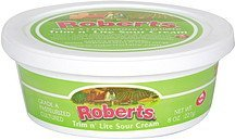 sour cream trim n lite Roberts Nutrition info