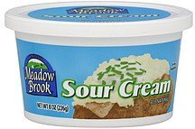 sour cream Meadow Brook Nutrition info