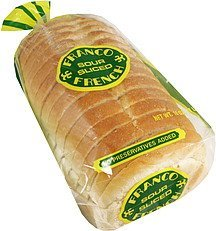 sour french bread Franco French Nutrition info