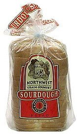 sourdough bread Northwest Grain Country Nutrition info