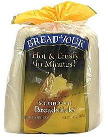 sourdough breadsticks Bread Du Jour Nutrition info