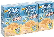 soy and juice beverage smoothie orange cream Kidz Dream Nutrition info