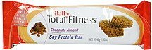 soy protein bar chocolate almond Bally Total Fitness Nutrition info