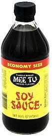 soy sauce economy size Mee Tu Nutrition info