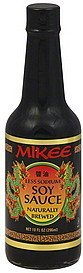 soy sauce less sodium Mikee Nutrition info