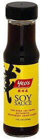 soy sauce Yeos Nutrition info