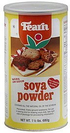 soya powder Fearn Nutrition info
