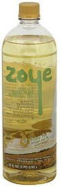 soybean oil low-sat, 100% pure Zoye Nutrition info