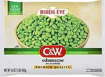 soybeans shelled edamame C&W Nutrition info