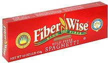 spaghetti high fiber Fiber Wise Nutrition info