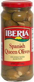 spanish queen olives stuffed with almonds IBERIA Nutrition info