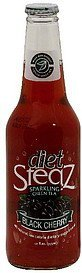sparkling green tea black cherry, diet Steaz Nutrition info