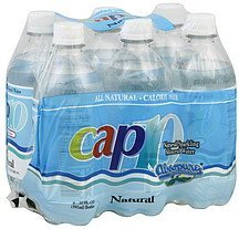 sparkling mineral water natural Cap 10 Nutrition info