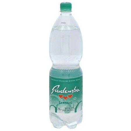 sparkling mineral water naturally, classic Radenska Nutrition info