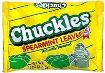 spearmint leaves Chuckles Nutrition info