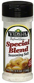 special blend seasoning salt Vidalia Nutrition info