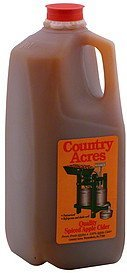 spiced apple cider quality Country Acres Nutrition info