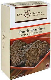 spiced cookies dutch speculaas Euro Kitchens Nutrition info
