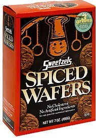 spiced wafers Sweetzels Nutrition info