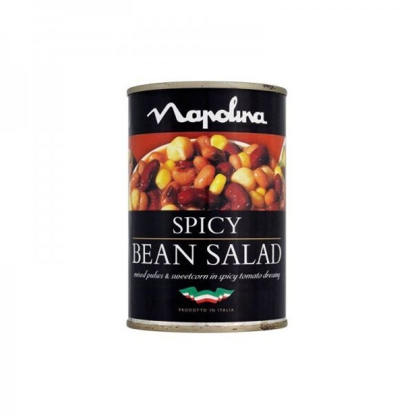 spicy bean salad Napolina Nutrition info