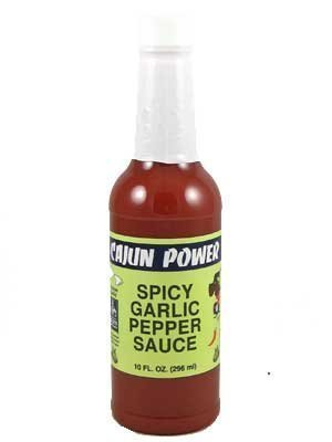 spicy garlic pepper sauce Cajun Power Nutrition info