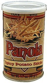 spicy potato sticks cajun style Panola Nutrition info