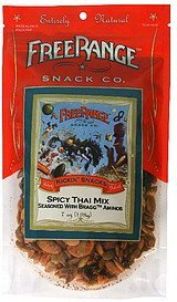 spicy thai mix Free Range Snack Co. Nutrition info