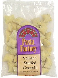 spinach stuffed gnocchi Pasta Factory Nutrition info