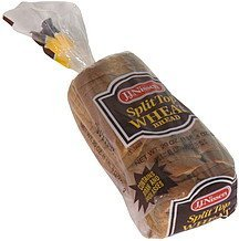 split top wheat bread J.J. Nissen Nutrition info